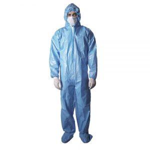 لباس ضد ویروس کرونا بسته ۵ عددی